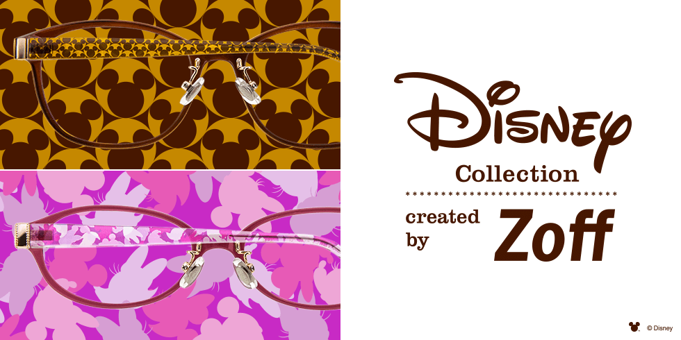 "DISNEY Collection(ディズニー・コレクション) created by Zoff - Happiness Series ""Silhouettes"""