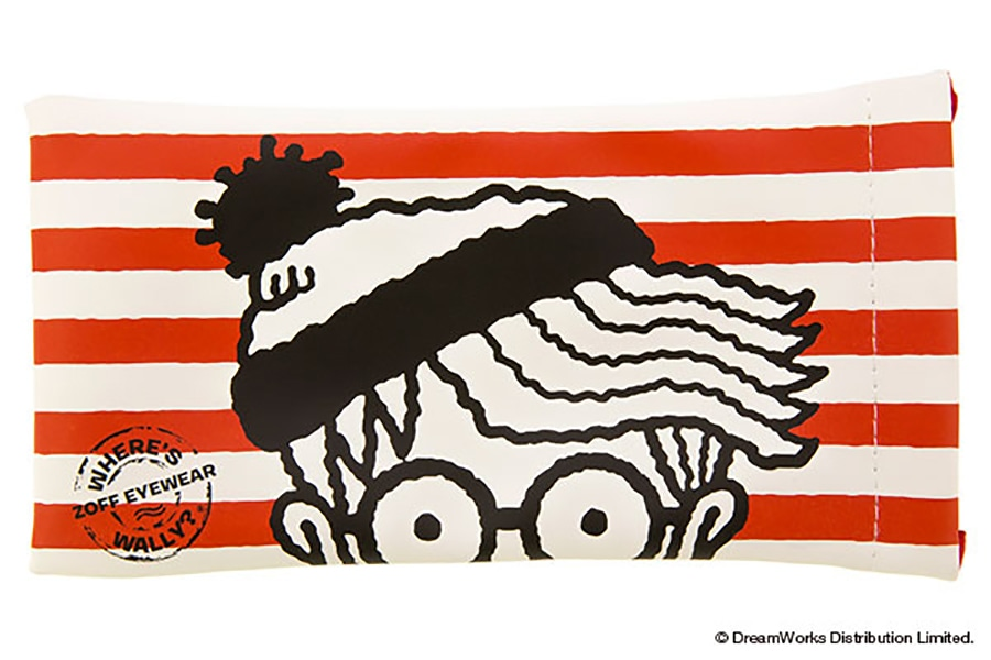 【数量限定商品】Zoff×WHERE'S WALLY? (Wally_Case_A)