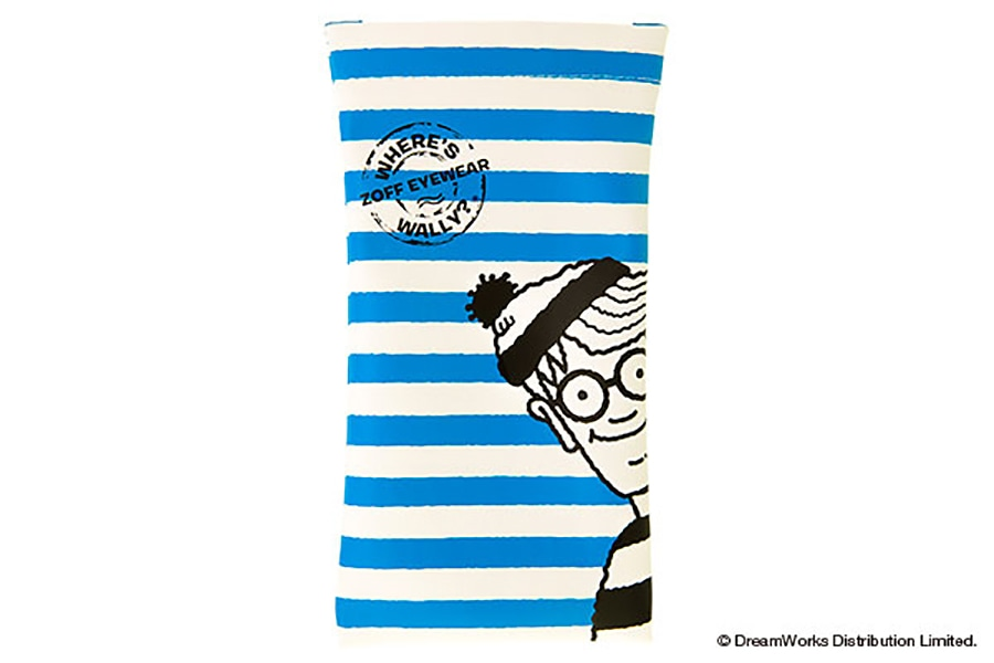 【数量限定商品】Zoff×WHERE'S WALLY? (Wally_Case_B)