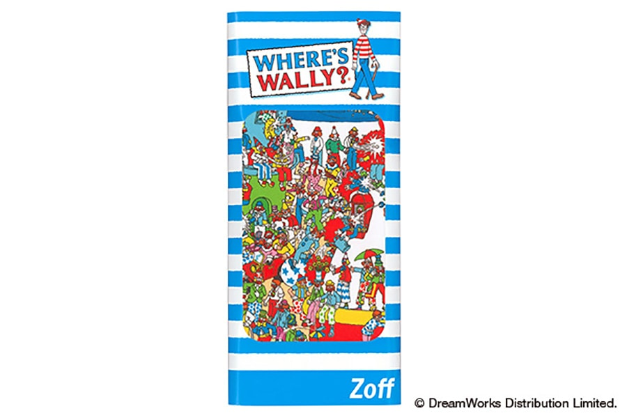 【数量限定商品】Zoff×WHERE'S WALLY? (Wally_Cloth_B)