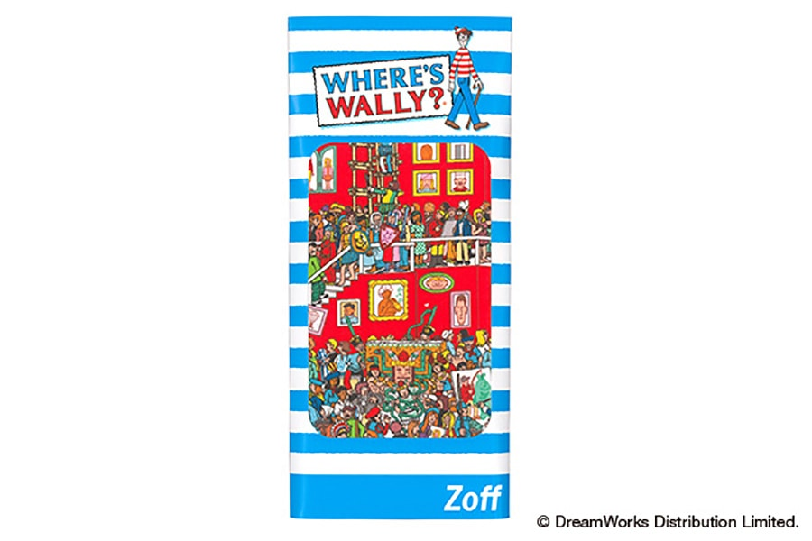 【数量限定商品】Zoff×WHERE'S WALLY? (Wally_Cloth_C)