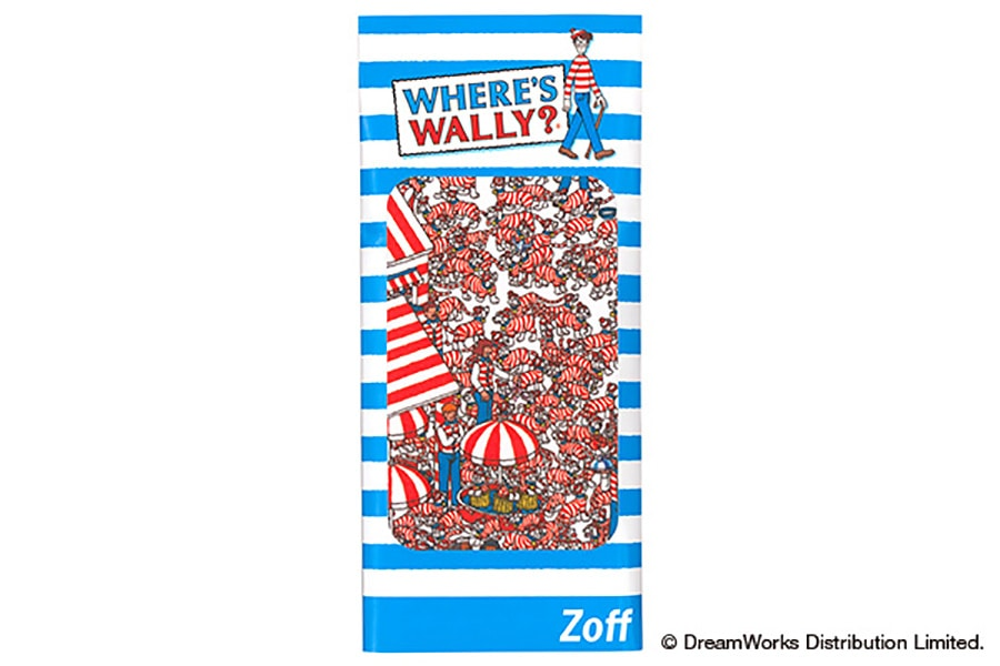 【数量限定商品】Zoff×WHERE'S WALLY? (Wally_Cloth_D)
