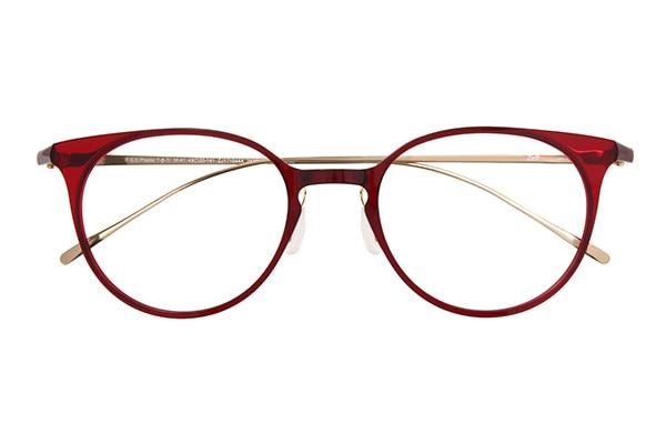 レッド ボストンのメガネ