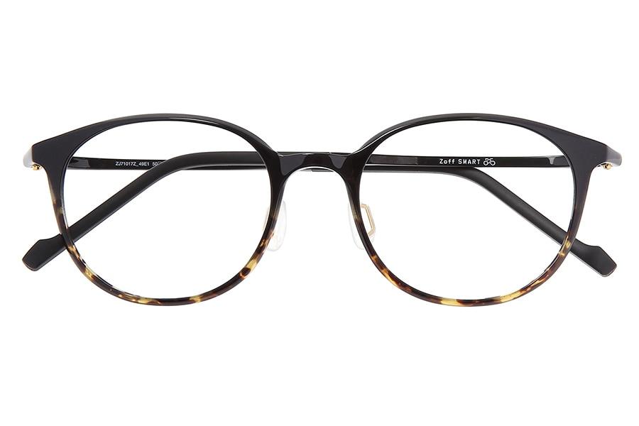 ブラウン ボストンのメガネ