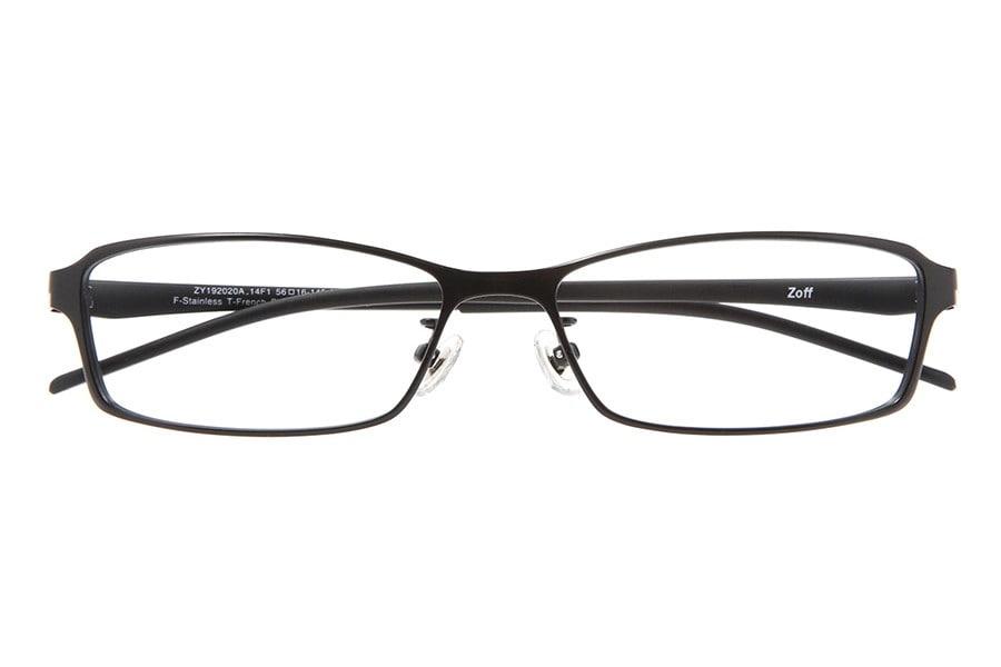 ブラック スクエアのメガネ