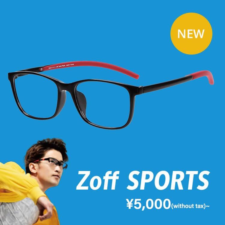 Zoff SPORTS ¥7,000(without tax)