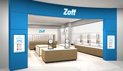 [5/29 NEW OPEN] Zoff ららぽーとTOKYO-BAY店