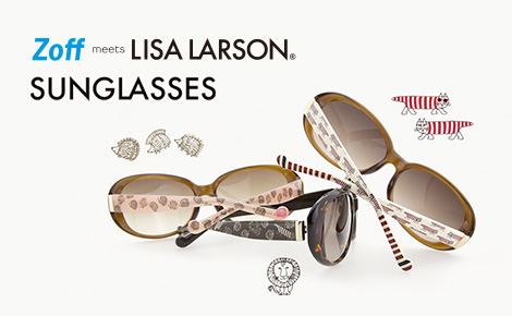 Zoff meets Lisa Larson SUNGLASSES