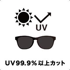 UV99.9%以上カット